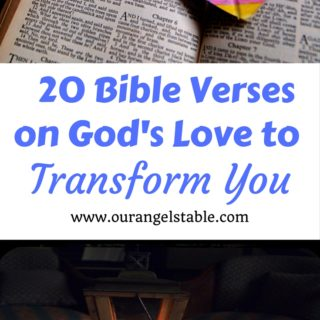 20 Bible Verses on God's Love to Transform You - Our Angels